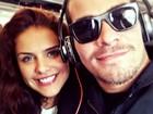 Paloma Bernardi e Thiago Martins curtem férias românticas