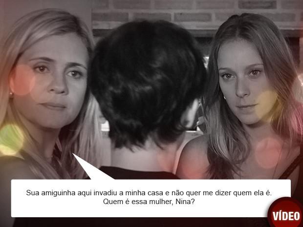 Irmã de Nina volta ao Brasil e deixa a cozinheira encurralada (Foto: Avenida Brasil / TV Globo)