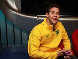 Thiago Pereira, no programa Conexão SporTV (Foto: Thiago Lavinas/SporTV.com)
