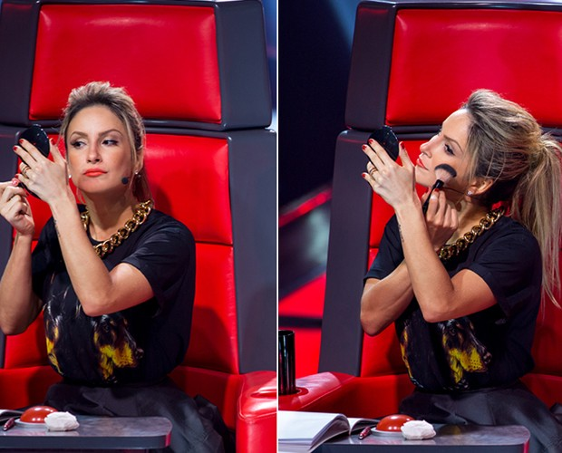 Claudia Leitte make  (Foto: Gshow)