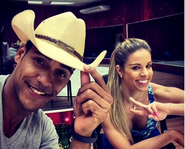 Raquel Guarin e Marcello Melo Jr. (Foto: Arquivo pessoal)
