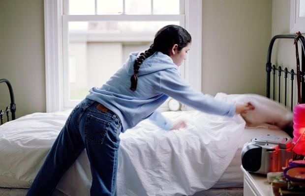 Por que você nunca deveria arrumar a sua cama