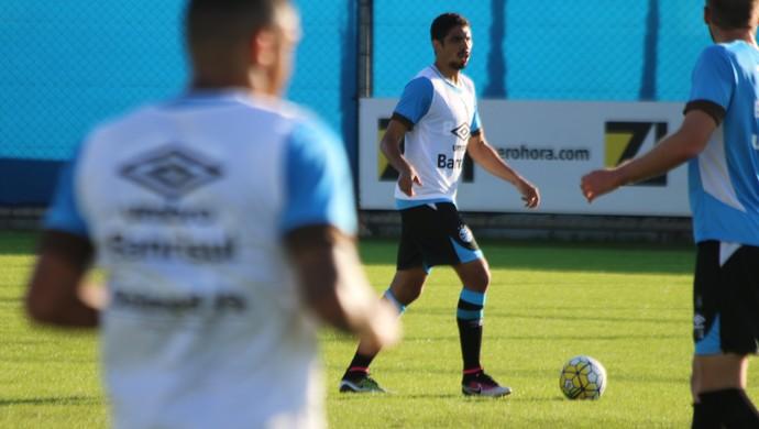 Wallace Grêmio zagueiro (Foto: Eduardo Moura/GloboEsporte.com)