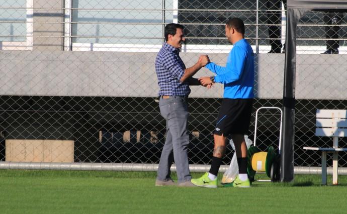 Rui Costa Edinho Grêmio (Foto: Eduardo Deconto/Globoesporte.com)