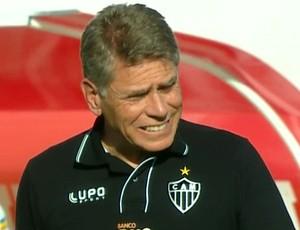Paulo Autuori, técnico do Atlético-mG (Foto: Reprodução / TV Globo Minas)