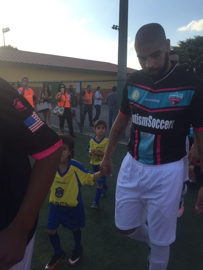 Adriano Miami United x Miami Fusion (Foto: Felipe Bruno/GloboEsporte.com)