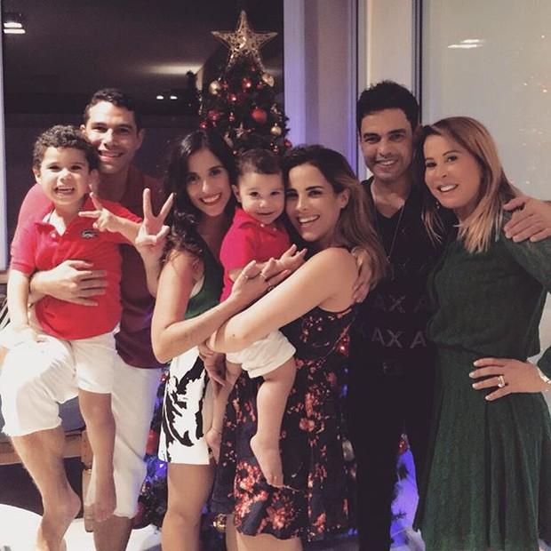 Camila Camargo, Wanessa, Zeze Di Camargo e Zilu  (Foto: Instagram / Reprodução)