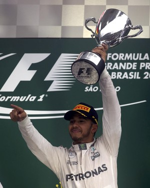 Hamilton GP do Brasil (Foto: Reuters)