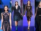 Rei do tapete vermelho, Elie Saab apresenta coleção sofisticada na Semana de Moda de Paris