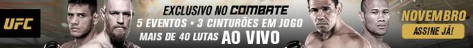 Banner UFCs novembro (Foto: Editoria de arte)