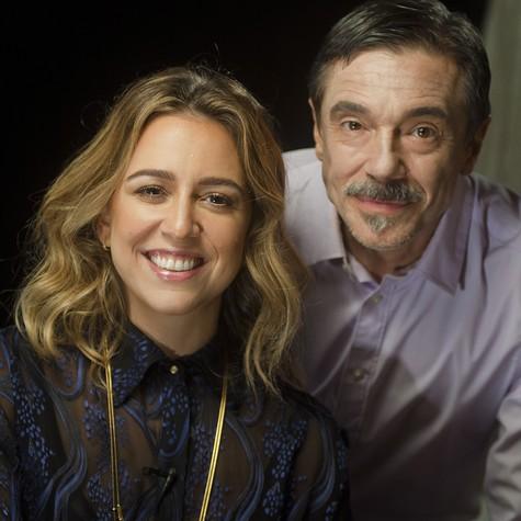 Roberta Sá e Charles Gavin (Foto: Dalton Valerio)