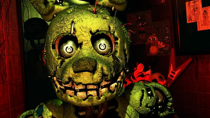 Five Night at Freddys 3 rende diversão e sustos por um baixo custo (Reprodução/Steam)