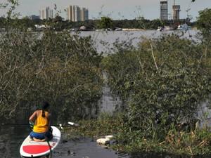 Voluntários são praticantes de SUP em maioria  (Foto: Bruno Kelly/ Arquivo Pessoal)