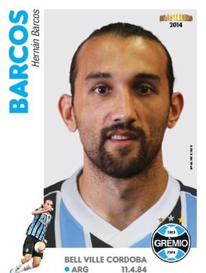 Barcos - figurinha Brasileirão 2014