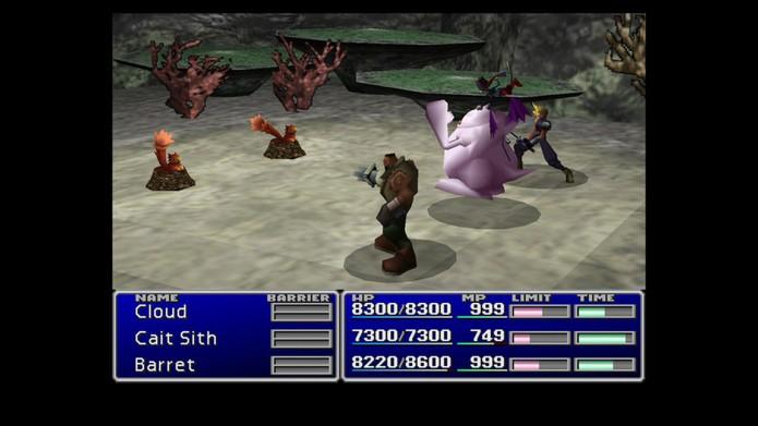 Final Fantasy 7 também foi o primeiro em 3D (Foto: Divulgação/Square Enix)