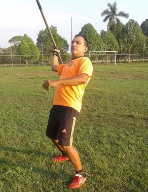 Cabo da Costa em treinamento para o Brasileiro Master (Foto: Cabo da Costa/ Divulgação)
