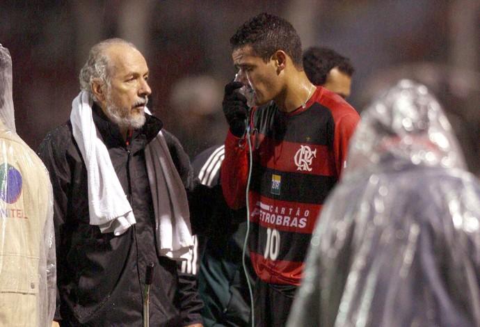 Renato Augusto, Real Potosí x Flamengo (Foto: Agência O Globo)