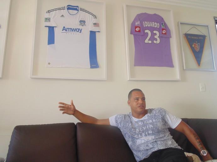 Eduardo da Silva - Cabo Frio (Foto: Gustavo Garcia/GloboEsporte.com)