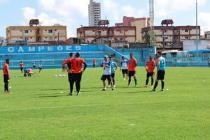 Paysandu realizou treino na manhã desta terça-feira (Foto: Jorge Luiz/Paysandu)