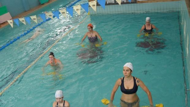 Hidroterapia - exercícios para gestantes - Eu Atleta (Foto: Hidrovida / Divulgação)