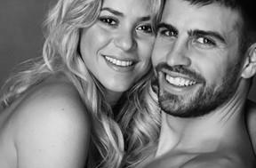 Galeria famosas e jogadores - Shakira e Piqué (Foto: Reprodução)