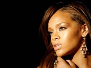papel de parede Rihanna