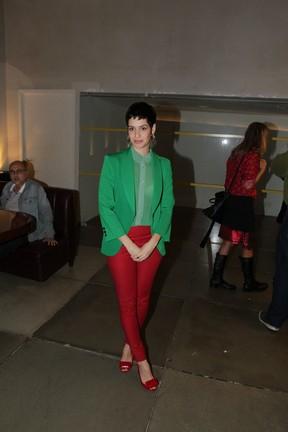 Maria Flor em pré-estreia de filme na Zona Sul do Rio (Foto: Marcello Sá Barretto/ Ag. News)