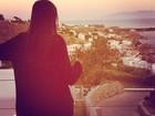 Sophia Abrahão e Fiuk viajam para a Grécia
