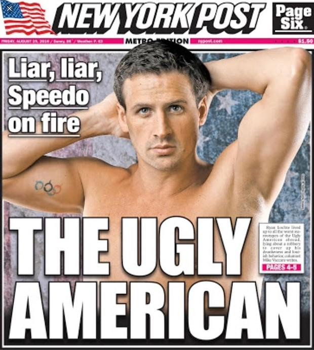 Capa do New York Post desta sexta-feira (19) (Foto: Reprodução/Instagram)