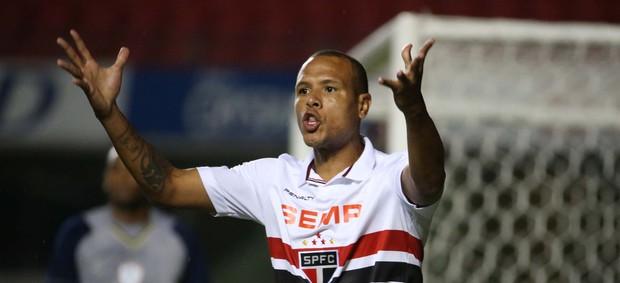 São Paulo x Portuguesa, Luis Fabiano (Foto: Marcos Ribolli)