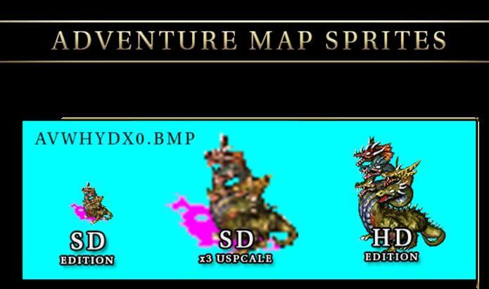 Sprites foram remodelados para a versão HD (Foto: Divulgação)
