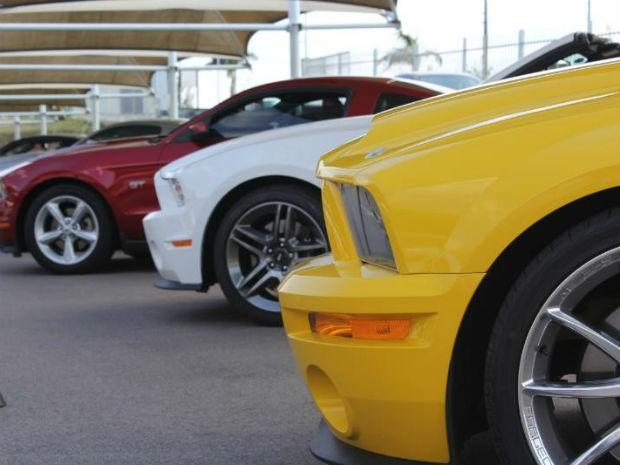 Encontro de Mustangs é promovido em shopping de Itu (Foto: Divulgação/ Assessoria de Imprensa)