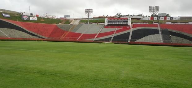Partida que pode consagrar o título do Cruzeiro será no Barradão (Foto: Raphael Carneiro/Globoesporte.com))
