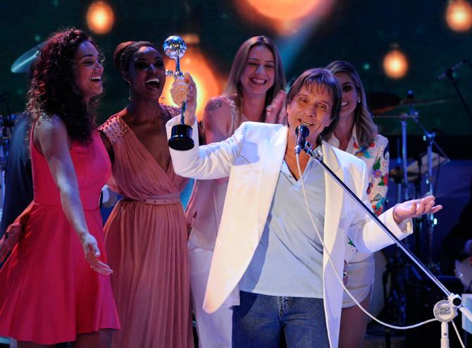 Roberto Carlos (Foto: Gshow/TV Globo)