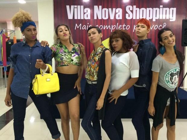 Modelos transexuais, LGBT, desfile, semana de moda, Macapá, Amapá (Foto: Arthur Benasuly/Arquivo Pessoal)