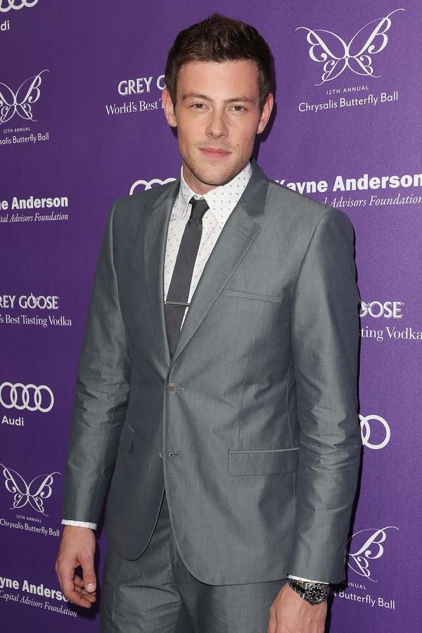Corey Monteith trabalhou em 'Glee' (Foto: Getty Images)