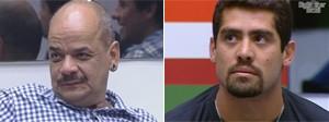 João C. e Yuri estão no Paredão; escolha quem deve ser eliminado (Reprodução/TV Globo)