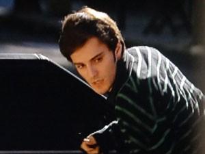 Martin sai do carro bolado!