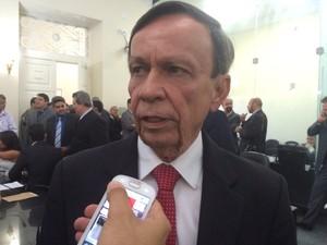 Luiz Dantas é eleito novo presidente da Mesa Diretora da ALE (Foto: Carolina Sanches/G1)