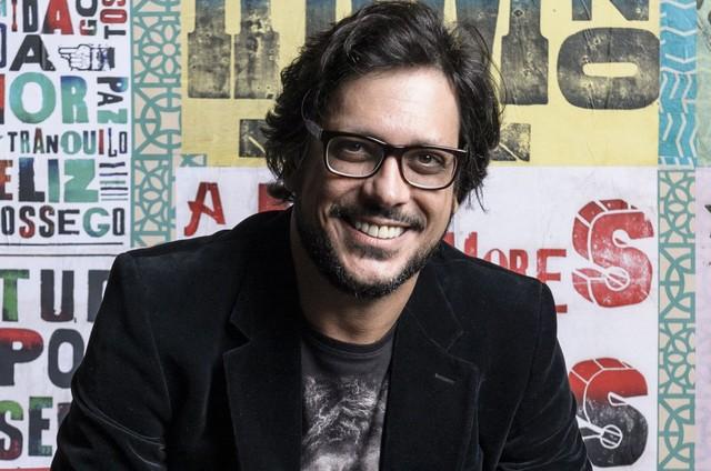 Lucio Mauro Filho (Foto: Ramón Vasconcelos/TV Globo)