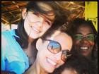 Camila Pitanga divide momentos de diversão da família em rede social