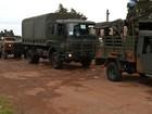 Exército faz simulação de conflito em Goiás antes de missão no Haiti