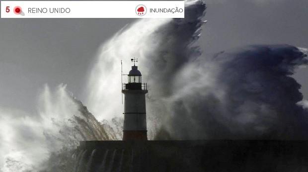 Clima extremo Reino Unido (Foto:  Luke MacGregor/Reuters)