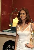 Marina Ruy Barbosa usa joias avaliadas em R$ 1 milhão em evento