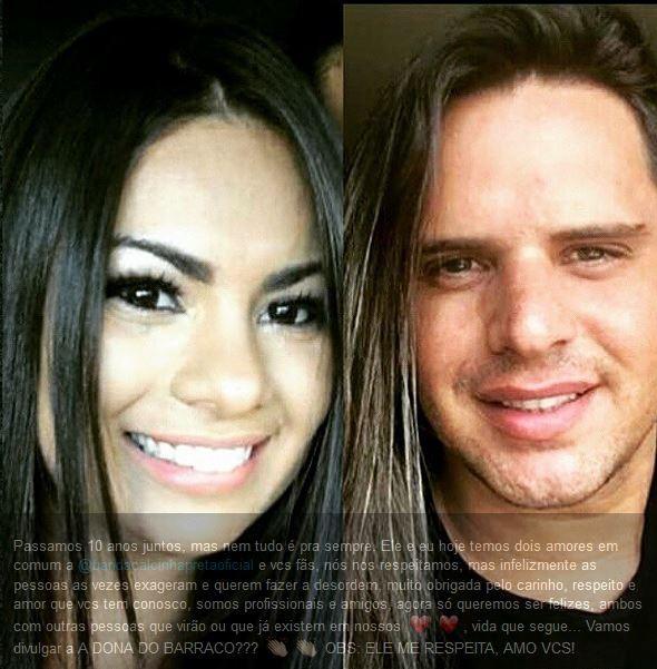 Postagem na rede social de Paulinha Abelha (Foto: Reprodução/Instagram)