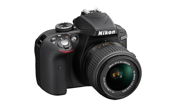 Nikon D3300 oferece vídeos em Full HD e preço mais econômico (Foto: Divulgação/Nikon)