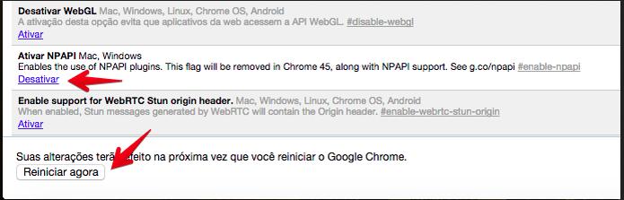 Chrome 42 chega com 45 correções e problemas no Java; saiba resolver ...
