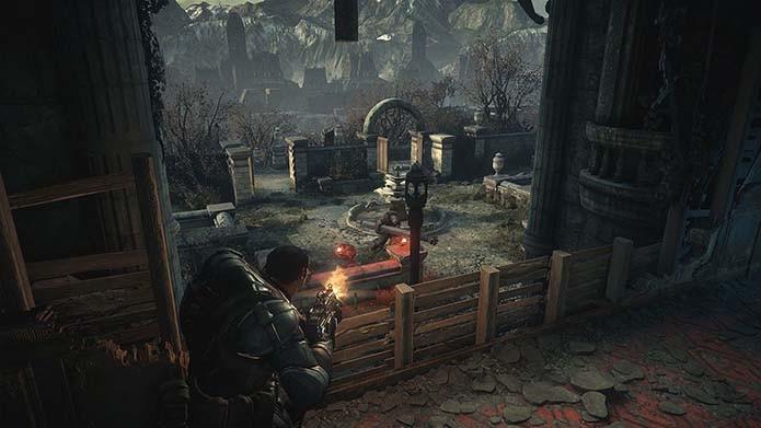 Game também conta com mapas de Gears of War 3 (Foto: Divulgação/Microsoft)