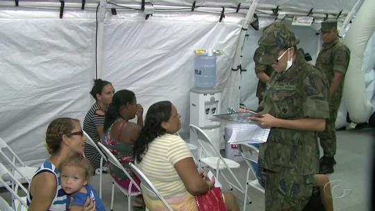 Primeiros atendimentos em Hospital de Campanha do Exército em AL são de ansiedade e hipertensão