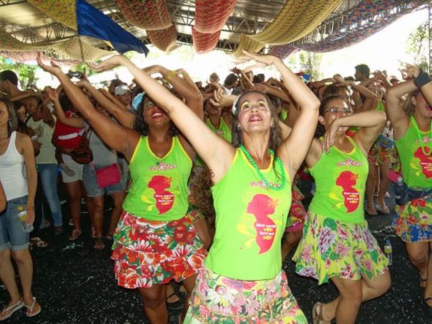 ConXitas participam do encerramento da Bienal da UNE (Foto: Katherine Coutinho/G1)